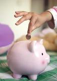Ajouter à votre épargne Image libre de droits