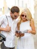 Ajouter au guide de carte, d'appareil-photo et de voyageurs Photographie stock