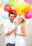 Ajouter aux ballons colorés photo libre de droits