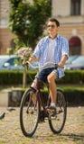 Ajouter aux bicyclettes Images stock