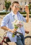 Ajouter aux bicyclettes Photos stock
