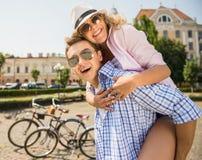 Ajouter aux bicyclettes Photographie stock