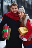 Ajouter aux cadeaux photographie stock