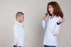 Ajouter aux coiffures extrêmes Photos libres de droits