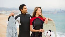 Ajouter aux panneaux de ressac sur la plage Photos libres de droits