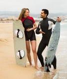 Ajouter aux panneaux de ressac sur la plage Photo libre de droits