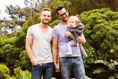 Ajouter gais de sourire à l'enfant Images stock
