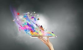 Ajoutez la couleur à votre vie Images libres de droits