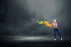 Ajoutez une certaine couleur à votre vie photo libre de droits