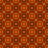 Ajrak Vector Pattern Royalty Free Stock Photography