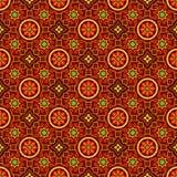Ajrak Vector Pattern royalty free illustration