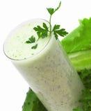 Ajran - grünes Cocktail Stockbild