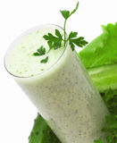 Ajran - green cocktail Stock Image