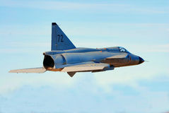 AJS 37 Viggen Royalty Free Stock Images