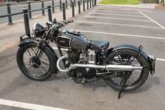 AJS motorcycle Stock Images
