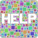 Ajuda! Imagens de Stock