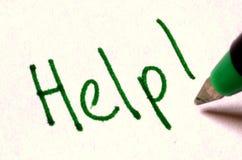 Ajuda! Imagem de Stock
