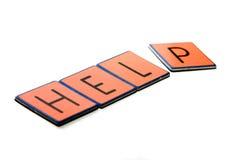 Ajuda Imagem de Stock