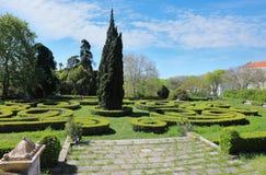 Ajuda Botanical Garden in Lisbon Royalty Free Stock Image