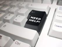 Ajuda da necessidade! foto de stock