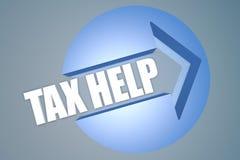 Ajuda do imposto Imagens de Stock
