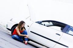 Ajuda do seguro Imagem de Stock Royalty Free