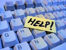 Ajuda do teclado Imagem de Stock Royalty Free