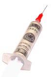 Ajuda económica Imagem de Stock Royalty Free