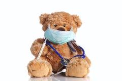 Ajuda especial pediatra Fotografia de Stock
