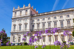 The Ajuda National Palace of Lisbon, Portugal. Stock Image