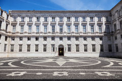 The Ajuda National Palace of Lisbon, Portugal. Stock Photography