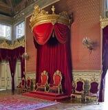Ajuda nationell slott Lissabon Arkivbild