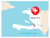 Ajuda para Haiti Imagens de Stock Royalty Free