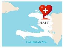 Ajuda para Haiti Fotos de Stock Royalty Free