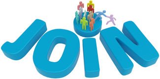 Ajuda que junta-se a executivos sociais Fotografia de Stock Royalty Free