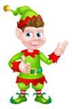 Ajudante do Natal de Santa Fotos de Stock