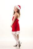 Ajudante pequeno de Santa Fotos de Stock Royalty Free