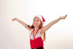 Ajudante pequeno de Santa Fotos de Stock