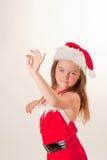 Ajudante pequeno de Santa Imagens de Stock Royalty Free
