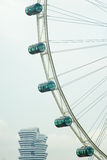 Ajuntamento sob o olho de Singapura Imagem de Stock Royalty Free