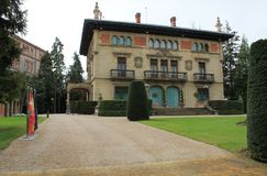 Ajuriaenea jauregia, vitoria-Gasteiz, Baskisch Land Royalty-vrije Stock Foto