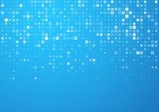 Ajusta el modelo azul de la tecnología Imagen de archivo
