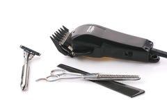 Ajustador isolado do cabelo Fotos de Stock