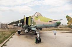 Ajustador M4 H del SU 22 Jet Fighter Fotografía de archivo libre de regalías