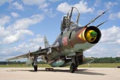 Ajustador Su-22 Foto de Stock Royalty Free