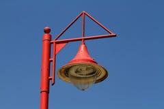 Ajustage de précision de lampe. Images libres de droits