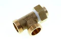Ajustage de précision de tuyauterie Photos stock
