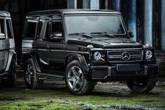 Ajustamento de Mercedes G55 AMG Imagens de Stock Royalty Free