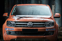 Ajustamento de Volkswagen Amarok Fotos de Stock Royalty Free