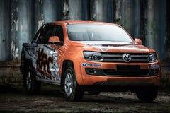 Ajustamento de Volkswagen Amarok Imagens de Stock Royalty Free